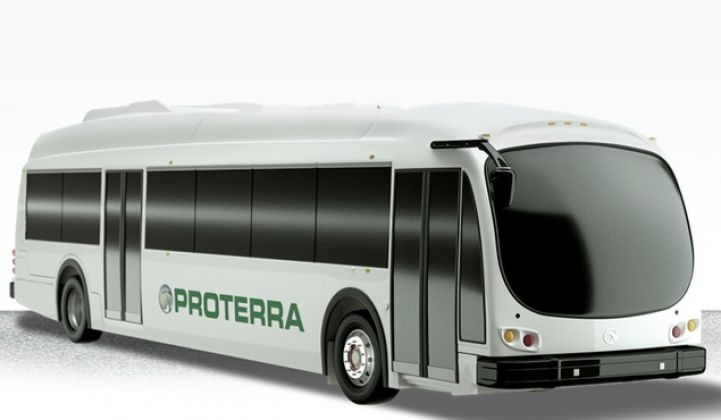 Electric Bus Builder Proterra Innovates in Conservative Transit Market