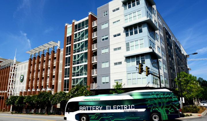 Electric Bus Maker Proterra Adds $140 Million in Equity Financing