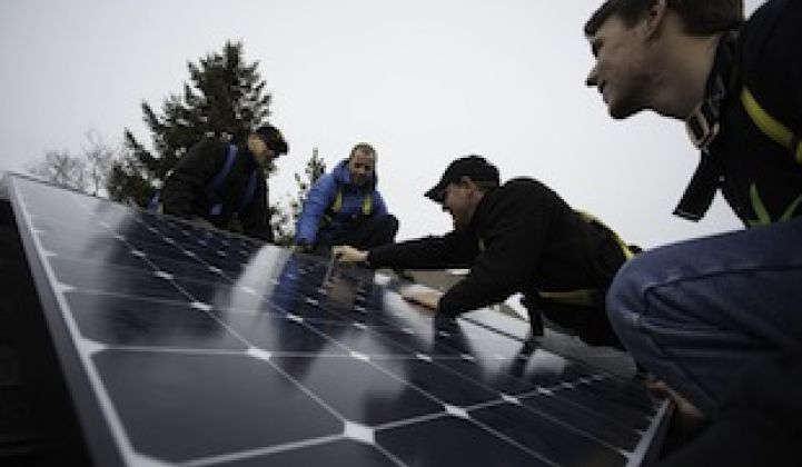 Northeast Solar Sales Surge Through Home Depot