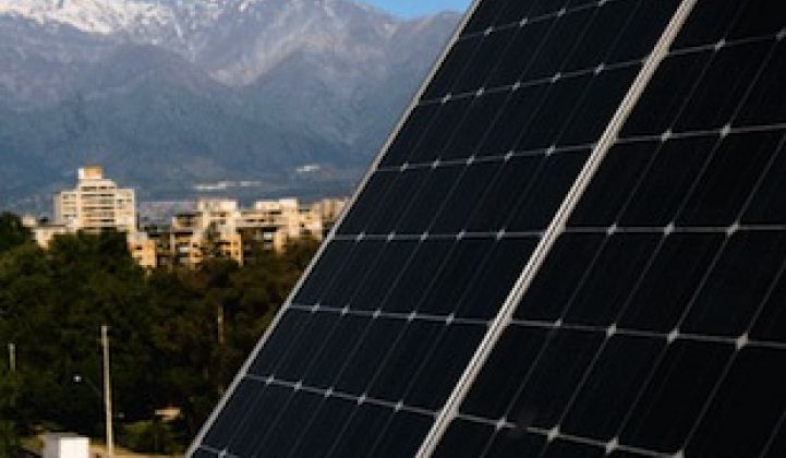 Solar Continues to Beat Fossil Fuel Prices in Chile, Boosting Confidence in the Market