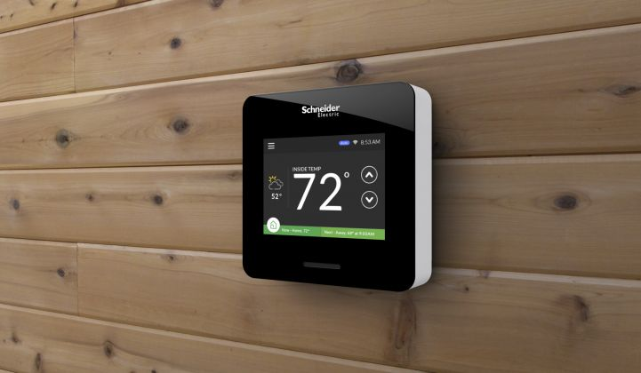 Schneider Electric (Finally) Puts Out a Wi-Fi Thermostat