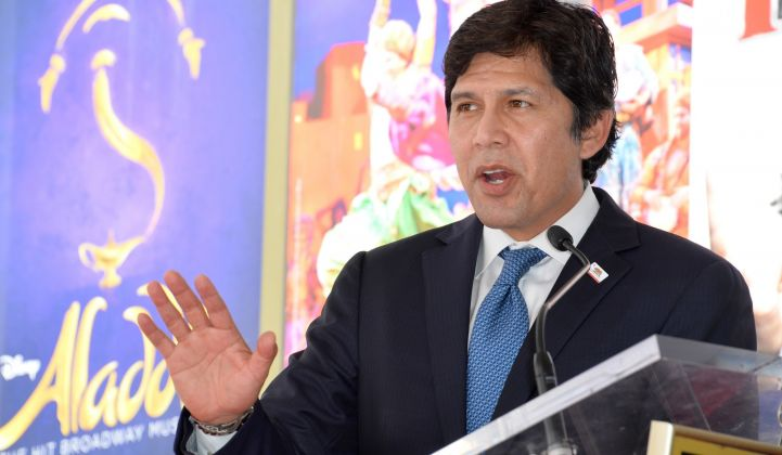 De León recently announced he's running for a city council seat in Los Angeles.