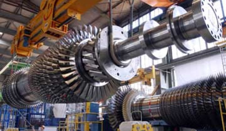 Siemens Claims World's Most Efficient Gas Turbine