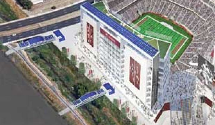 49ers Go for LEED Certification With Solar