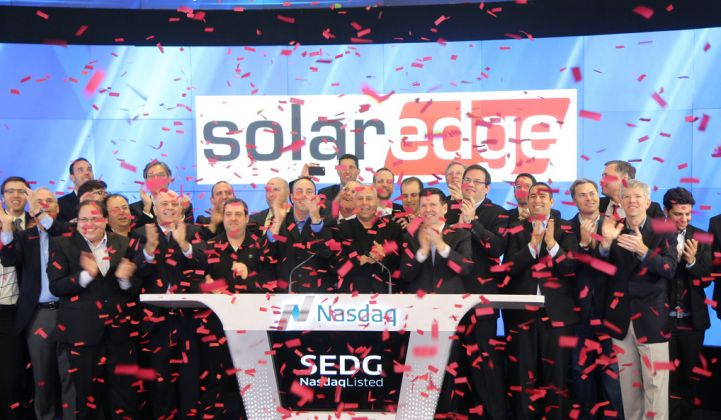 Solar Electronics Startup SolarEdge Just Raised $126M in Its IPO