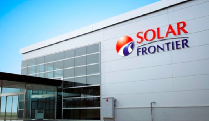 Solar Frontier's CEO Aims for 40-Cents-Per-Watt CIGS Modules