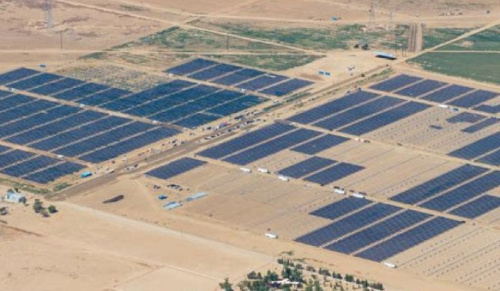 Solar Star, Largest PV Power Plant in the World, Now