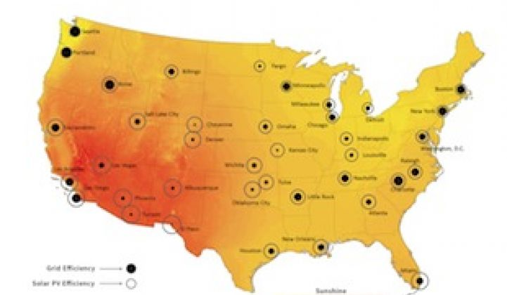 Solar Versus the Grid: This Map Shows Where PV Makes the Most Sense ...