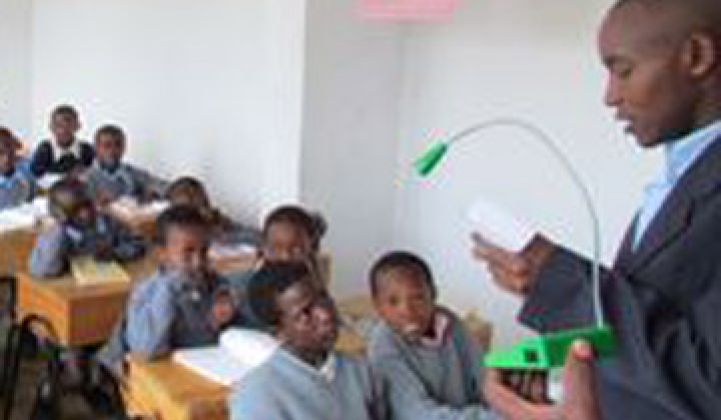 Guest Post: Fighting Illiteracy With Solar Lights