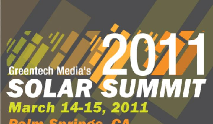 Solar Summit: VC Investing in Solar 2011
