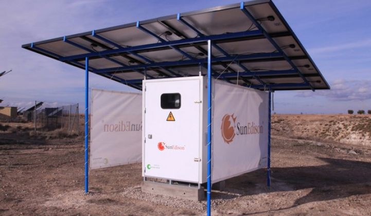 SunEdison's Next Market: Solar Minigrids and Micropower Stations for the Energy Poor