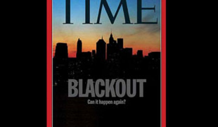 2003 Blackout: Could Smart Grid Save Us Next Time?