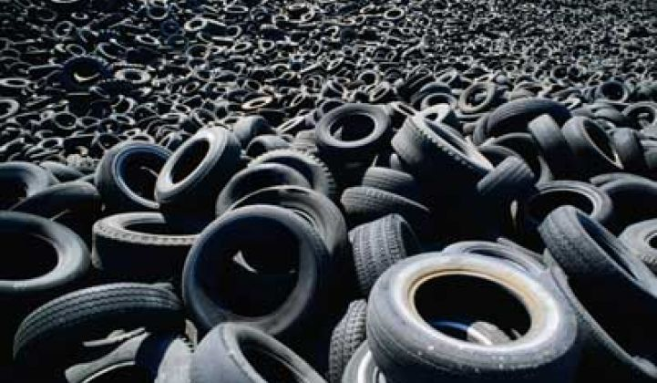 Lehigh Turns Old Tires Into Plastics, Chemicals via the Freeze-Dry Method