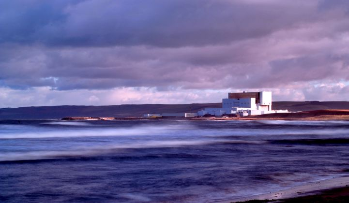 EDF's Torness Nuclear Power Station in the U.K. Only three EU nations, plus the recently departed U.K., are building new nuclear reactors. (Credit: EDF)