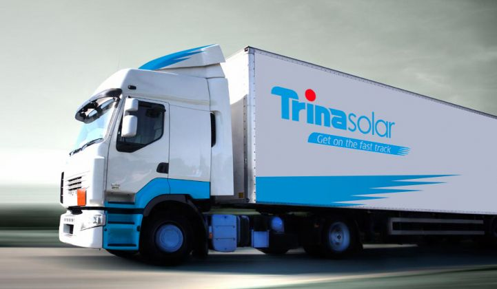 Chinese Solar Module Supplier Trina Is Going Private and Exiting the NYSE