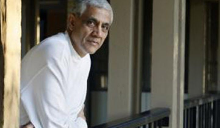 Vinod Khosla on Innovation and Startups in Greentech