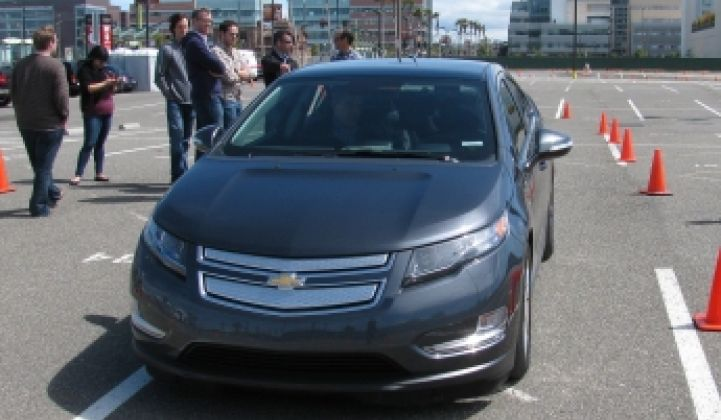 GM's Chevy Volt: A Work in Progress