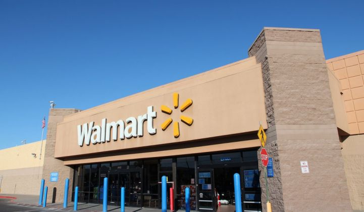 Wal-Mart Leads the Nation in Corporate Solar Deployments. What Will It Do With Storage?