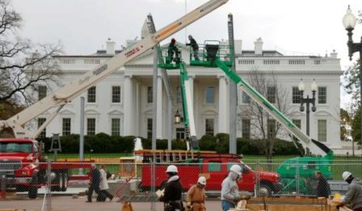 Obama White House Finally Getting Solar PV Panels