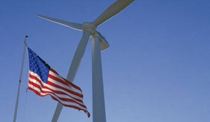 9,922 Megawatts of New Wind in U.S. in 2009, But Manufacturing Lags