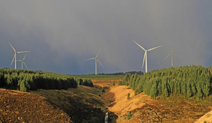 The Pen y CyMoedd wind farm will soon host