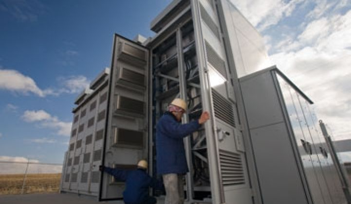 Xcel Shows it Can Catch the Wind in a Big Battery