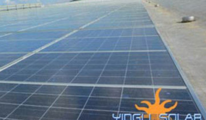 Yingli Reports Big Q3, Raises 2010 Shipment Guidance to 1 GW