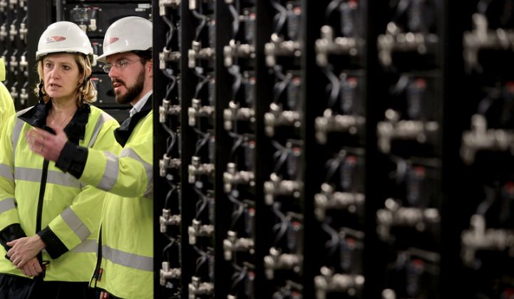 Big utility investments in storage are causing frequency regulation prices to crater.