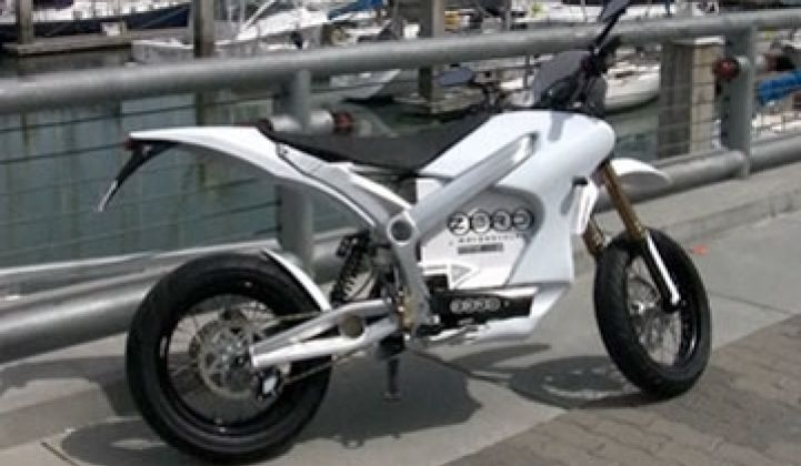 Video: Test Driving the Electric Motorcycle