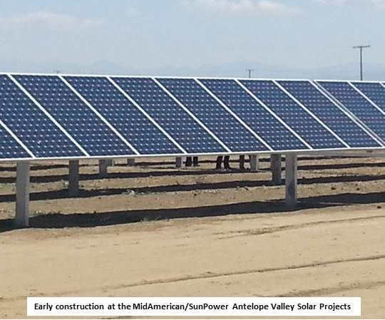 sunpower antelope valley solar