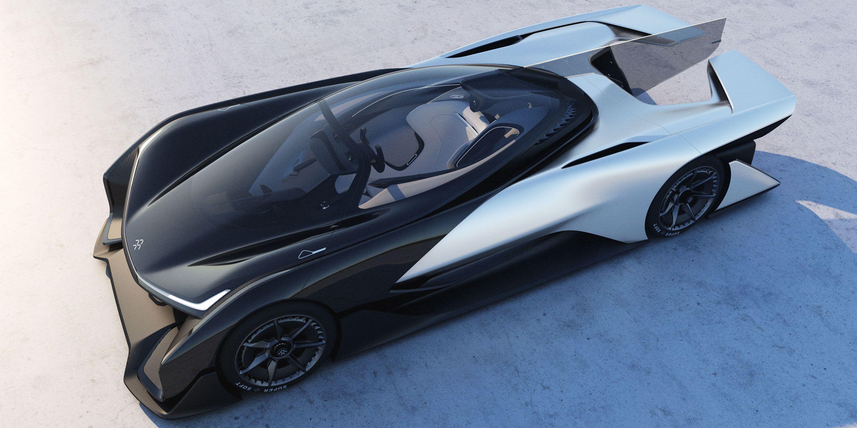 Faraday Future Ffzero1 Concept Ev