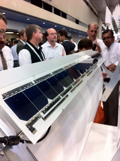 Low Concentration PV Deployments From SunPower and Skyline Solar