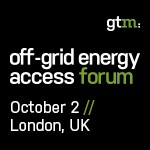 Off-Grid Energy Access Forum