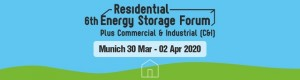 The 6th Residential Energy Storage Forum