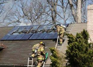 Putting Out the Solar-Panel Fire Threat | Greentech Media